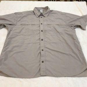 Men's North Face Vented Fishing Shirt